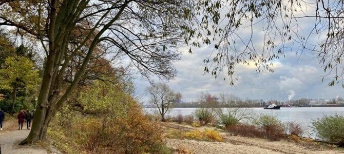 Wandern an der Elbe: Von Blankenese nach Övelgönne