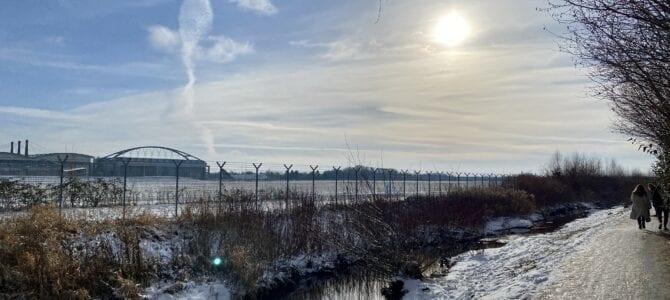 Wandern an der Tarpenbek: Von Ochsenzoll nach Hamburg-Eppendorf