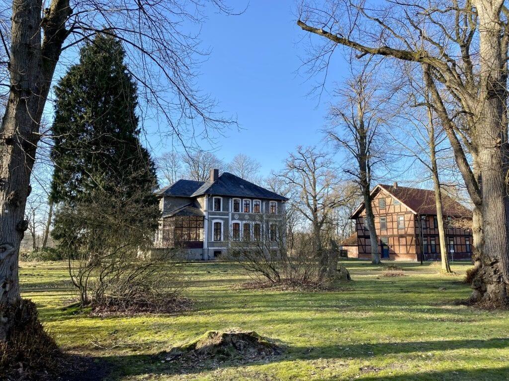 Das Jagdschloss im Klostergut Burgsittensen bei Tiste