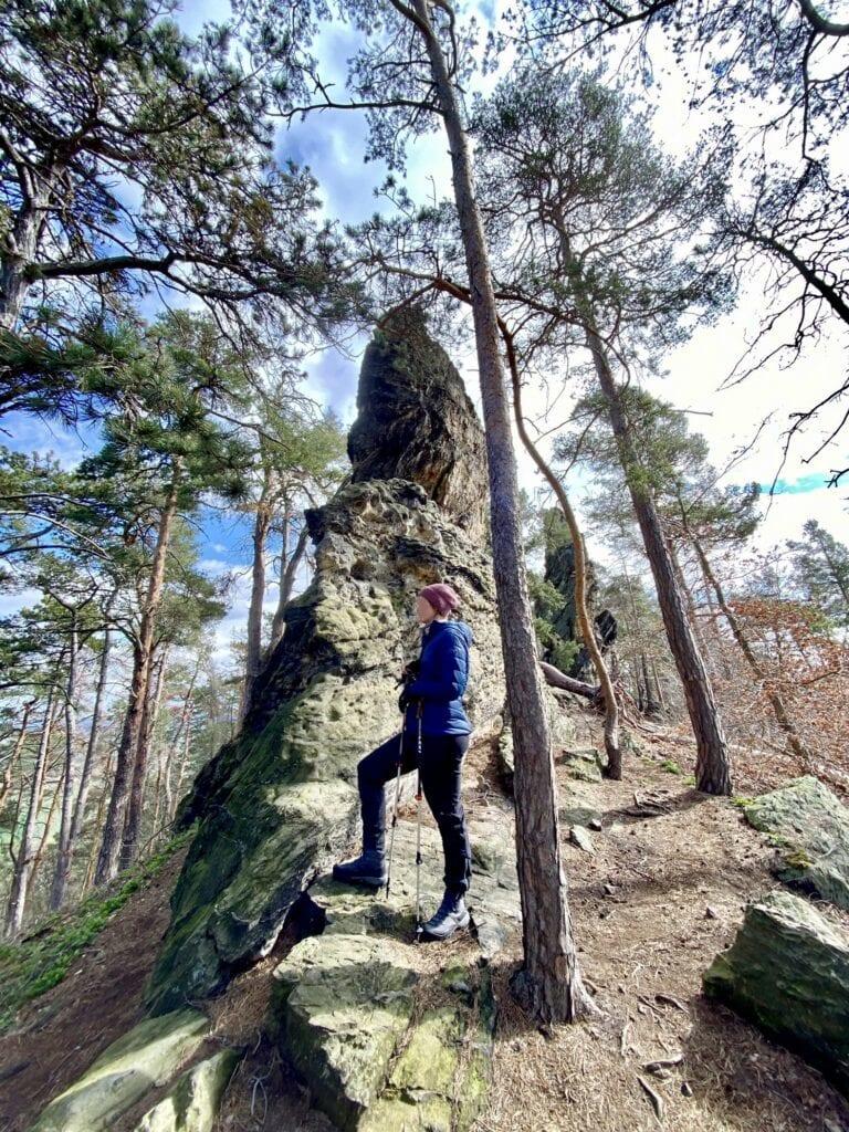 Auf der Teufelsmauer bei Blankenburg im Harz