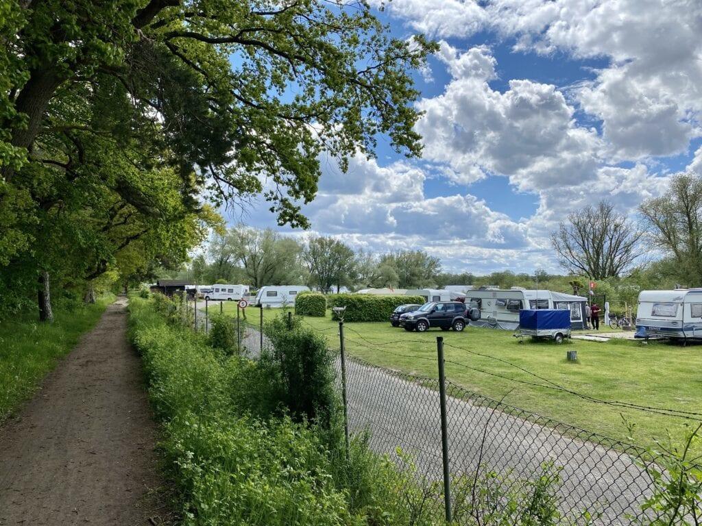 """Start ins Naturschutzgebiet """"Hohes Elbufer"""" in Tesperhude / Geesthacht"""
