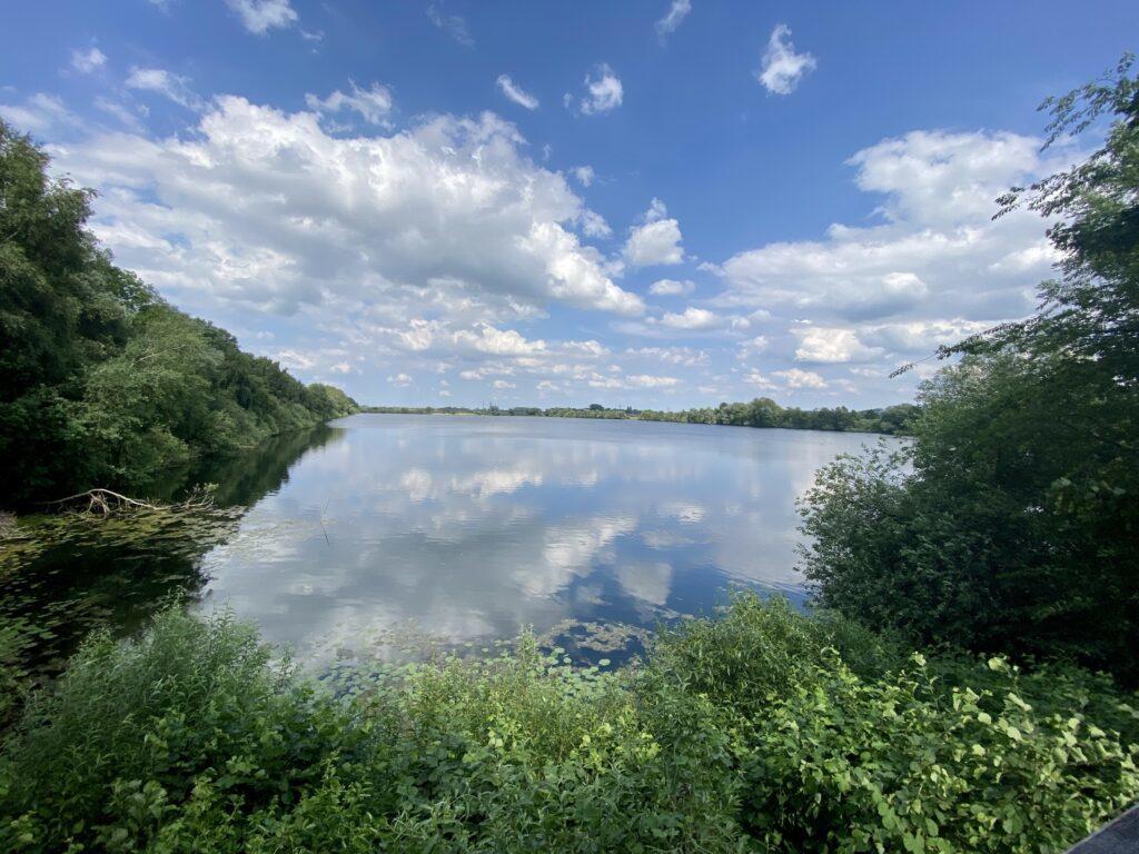 Blick über den Junkernfeldsee in der Seeveniederung