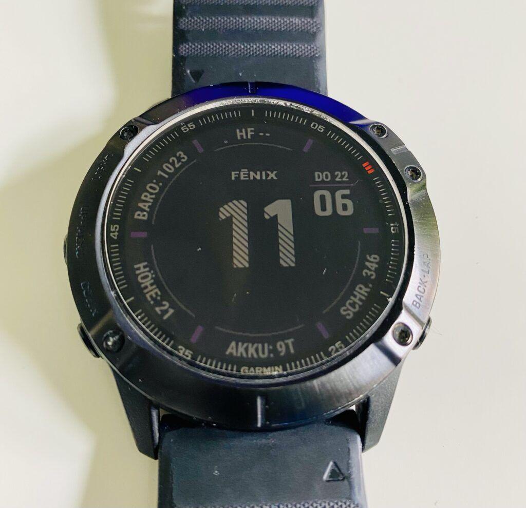 Garmin Fenix 6 X Pro Smartwatch - GPX importieren